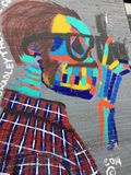 Цвет искусства Нью-Йорка стоковое изображение
