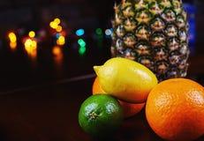 Цвет и красивое украшение для коктеиля на Стоковое Фото