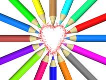 Цвет карандаша Стоковая Фотография RF