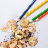 Цвет карандаша Стоковые Фотографии RF