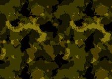 Цвет картины Camuflage зеленый бесплатная иллюстрация