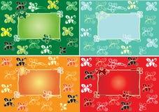 цвет карточки Стоковые Фотографии RF