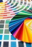 цвет карточки ral Стоковое Изображение RF