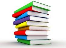 цвет книг Стоковое фото RF