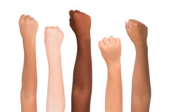 Цвет кожи Стоковая Фотография RF