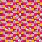цвет конфеты безшовный Стоковое Фото