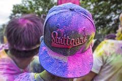 Цвет, который побежали в Штутгарте Стоковое Фото