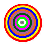 Цвет круга красочного Стоковое Изображение