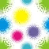 цвет кругов Иллюстрация вектора