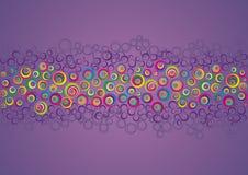 цвет кругов Иллюстрация штока