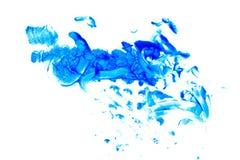 Цвет масла абстрактного искусства bluets Стоковое Фото