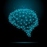 Цвет мозга Иллюстрация вектора