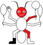 Цвет муравьем примера Стоковое Изображение