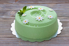 Цвет мяты торта весны Стоковая Фотография RF