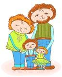 Цвет младенца папы мамы Lumb бесплатная иллюстрация