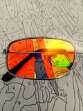 Цвет номерами Стоковое фото RF