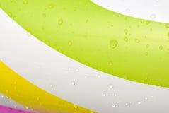 цвет падает вода Стоковые Изображения RF