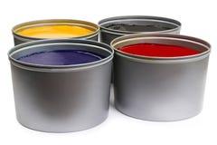 Цвет печатного станка Стоковая Фотография RF