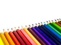 цвет предпосылки рисовал белизну Стоковое Фото