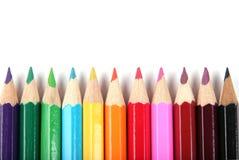цвет предпосылки рисовал белизну Стоковое Изображение