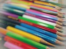 цвет предпосылок изгибает листья Стоковое Фото
