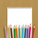 цвет предпосылки рисовал вектор Стоковое Изображение RF