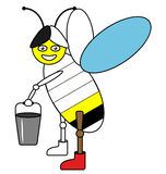Цвет пчелой примера Стоковая Фотография RF