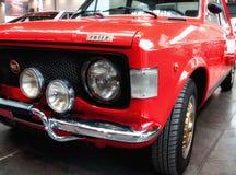цвет ралли Фиат 128 красный Стоковое Изображение RF