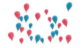 Цвет ребенк воздушного шара Стоковые Фото