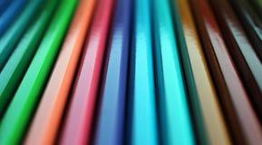 Цвет рисовал текстуру градиента увиденную в перспективе Стоковое Изображение RF