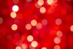 цвет рождества gaily освещает Стоковая Фотография