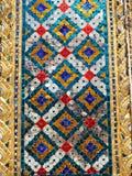 Цвет смешивания объекта блеска от архитектуры старой Азии на Таиланде Стоковое Фото
