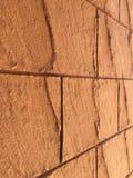 Цвет стены предпосылки оранжевый или коричневый стоковое изображение rf