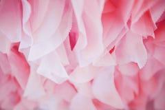 Цвет ткани розовый для предпосылок Стоковое Фото