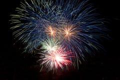 Цвет фейерверков Стоковая Фотография RF