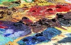 цвет художника Стоковая Фотография RF