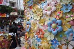 Цвет цветка полный Стоковая Фотография RF