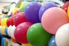цвет 02 воздушных шаров Стоковое Изображение