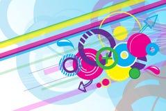 Цвет Abs полный Стоковая Фотография