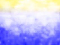 Цвет Bokeh вполне с предпосылкой нерезкости Стоковая Фотография RF