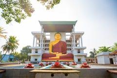 Цейлон, старые статуи Будды в виске стоковое фото