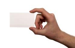 цели визитной карточки Стоковые Изображения RF