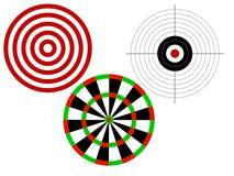 цели стрельбы Стоковые Изображения RF