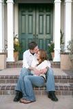 целовать пар Стоковые Изображения RF