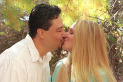 целовать пар Стоковое Фото