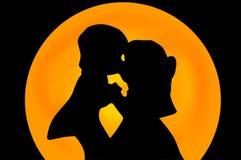 целовать пар Стоковое Изображение RF