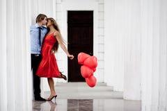 целовать пар стоковая фотография rf