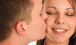 целовать Стоковые Фото