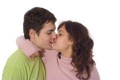 целовать Стоковая Фотография