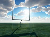 Цель американского футбола Стоковые Изображения RF